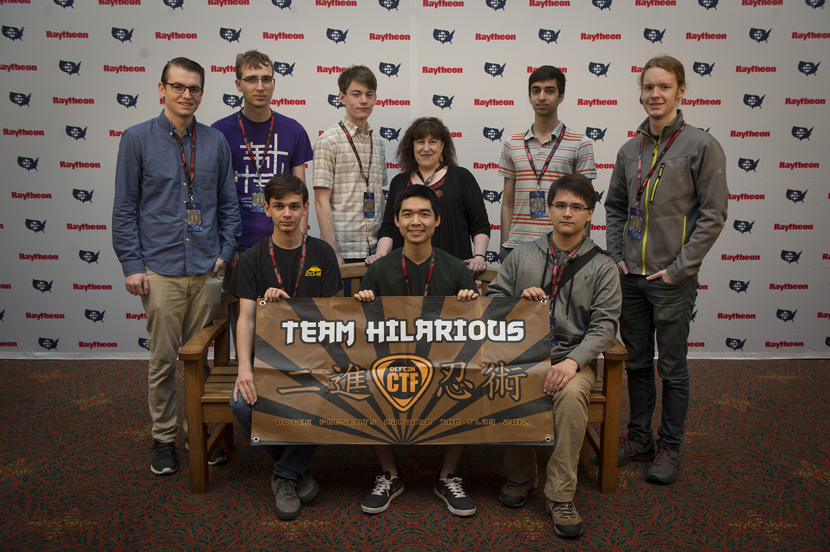 "University of Washington ""Team Hillarious"" team in 2017"